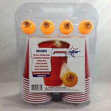 Beer Pong Kit Flip Cup Pong Star NIP
