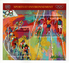 LEROY NEIMAN 1995 Continental Olympic Games - Uncirculated uncanceled L@@K MINT