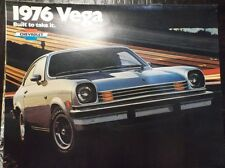 1976 Chevrolet Vega Chevy GM General Motors Hatchback GT Sport Coupe Cosworth