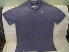 Greg Norman Play Dry Men's Polo Shirt-ss,97% Polyester,3% Spandex,L,purple.Mint