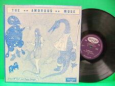 Ewan MacColl & Peggy Seeger The Amorous Muse 1968 Import NM- LP Argo ZDA 84 Folk