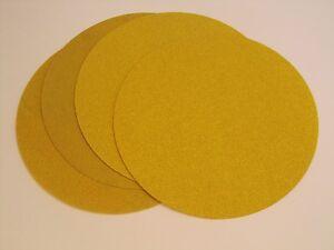 150mm Sanding Discs P60 Pack of 25 Velcro Backed Aluminium Oxide