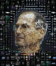 """004 Steve Jobs - RIP Think Different Great Inventor 14""""x16"""" Poster"""