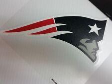 New England Patriots Colored Window Die Cut Decal Wincraft Sticker 8x8 NFL