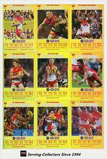 2008 AFL Teamcoach Trading Card Gold Team Set Sydney (11)