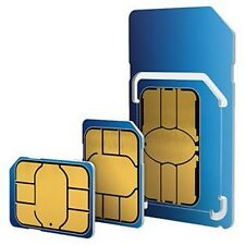 o2 /02 NANO 4G SIM PACK FOR ALL IPHONE & SAMSUNG GALAXY  8GB OF 4G NET 2000 MINS
