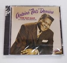 The Fat Man: 25 Classic Performances by Fats Domino (CD, Aug-1996, EMI) - NEW