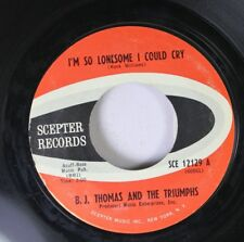 Rock 45 B.J. Thomas And The Triumphs - I'M So Lonesome I Could Cry / Candy Baby