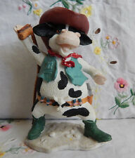 HOME ON THE RANGE RUSS COW WITH WHIP #14226