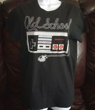 MEN / WOMENS ADULT NINTENDO OLD SCHOOL VIDEO GAME CONTROLLER T SHIRT MEDIUM M
