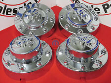 Dodge Ram 3500 Dually Chrome Front and Rear Center Hub Cap Set Covers OEM MOPAR