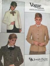 Vogue Sewing Pattern 2828 Misses Ladies Jackets Size 10 Uncut