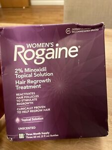 Women's Rogaine Topical Solution 2% Minoxidil - 3 Months Supply