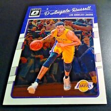2016-17 Donruss Optic Basketball #64 D'Angelo Russell~Los Angeles Lakers!