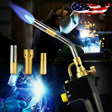 Ts8000 Bernzomatic Style Blow Torch Kit Brazing Soldering Mapp Gas Map 3tips
