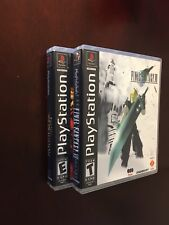 Final Fantasy VII Empty Custom Replacement Case (Sony PlayStation 1) PS1 PS2 PS3
