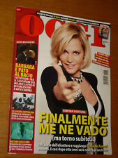OGGI 2011/13=SIMONA VENTURA=MAGDA OLIVERO=MARCO DEAMBROGIO=NICOLAI LILIN=ECTECT
