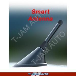 Smart Car Antenna Black Carbon Stubby Aerial Suzuki SX4
