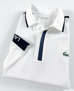 Lacoste Sport Men's Breathable Honeycomb Knit Golf Polo Shirt DH967700-0L3