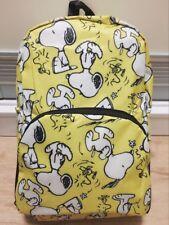 Snoopy Peanuts Travel Big Foldable Waterproof Backpack Bag