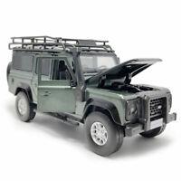 Land Rover Defender 1:32 Die Cast Modellauto Spielzeug Kinder Sammlung Grün