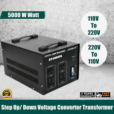 5000W Voltage Converter Transformer Step Up/Down 220V to 110V/110V to 220V New