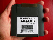 Iomega zip ANALOG programs sound Kurzweil k2600 k2600r k2500 k2500r k2000r k2661