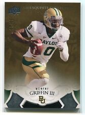 2011 Exquisite Collection Draft Picks Bronze RG Robert Griffin III Rookie 7/99