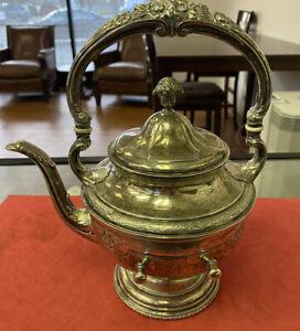 ANTIQUE STERLING SILVER TEA Pot Louis xiv By Towle 885Grams