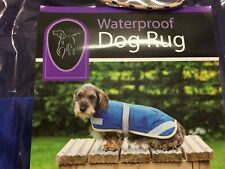 COUNTRYWIDE WATERPROOF BLUE DOG RUG/COAT SIZE 30CM NEW IN PACKAGING