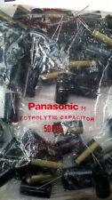 50x Panasonic gold 2200µf 50V 105°  Kondensator