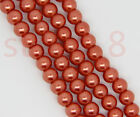 Wholesale Glass Pearl Round Spacer Loose Beads Charms Jewelry Craft 4mm,6mm,8mm