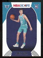 2020-21 Panini NBA Hoops LAMELO BALL Rookie Card RC #223 Charlotte Hornets E2