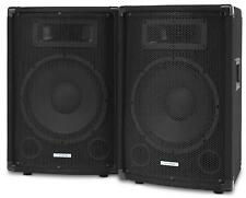 "PAAR 2-WEGE DJ PA LAUTSPRECHER BOXEN 10"" (25CM) SUBWOOFER SYSTEM DISCO SET 800W"
