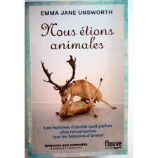 Nous étions animales - UNSWORTH Emma Jane