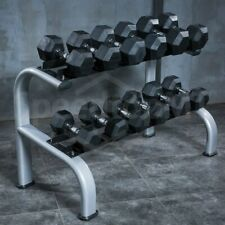 20/25/30/35/40/45/50 KG Pair Body Building Gym Hexagonal Barbell Dumbbells 2020