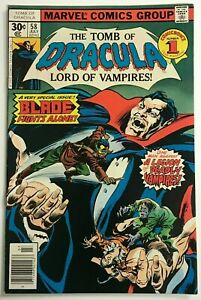 TOMB OF DRACULA#58 VF 1977 MARVEL BRONZE AGE COMICS