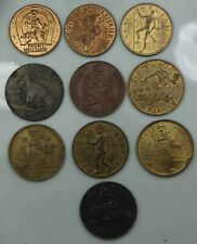 Lot of 10 Tokens Good Luck [3435