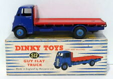 Vintage Dinky 512 - Guy Flat Truck - Blue Red