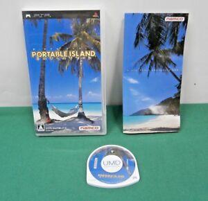 PlayStation Portable - Portable Island Tenohira No Resort - PSP. JAPAN. 47415