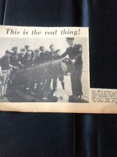 71-9 Ephemera 1957 Picture Hms Chieftain Petty Officer Lombard Sea Scouts