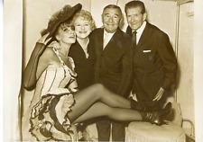 Gisèle Robert, Jeanne Sourza, Georges Milton et Albert Préjean Vintage silver p