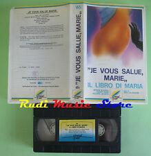 VHS film JE VOUS SALUE MARIE Il libro di maria 1985 Jean Luc Godard (F23) no dvd