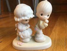 """Sew in Love� Precious Moments Figurine #106844 dated 1987"
