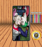 Joker And Harley Quinn Suicide Squad for Samsung Galaxy Silicone Case Cover