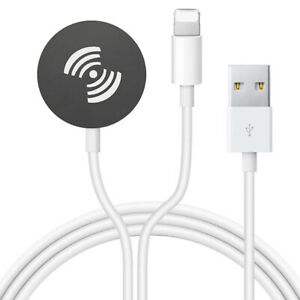 Portable 2 in 1 iWatch Wireless Charger USB Cable For Watch Series 6 5 4 SE