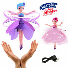 Flying Doll Toy Xmas Gift Fairy Princess Infrared Induction Control Kids Girls