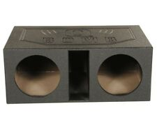 "Qpower Qbomb12Vl 12"" Dual Vented Ported Car Subwoofer Sub Box Enclosure"