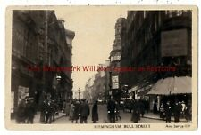Birmingham Bull Street Real Photo Vintage Postcard 3