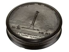 c1814 Horn Snuff Box of Napoleons Army Victory Column